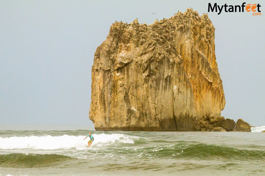 Awesome things to do in Guanacaste- surfing at witchs rock