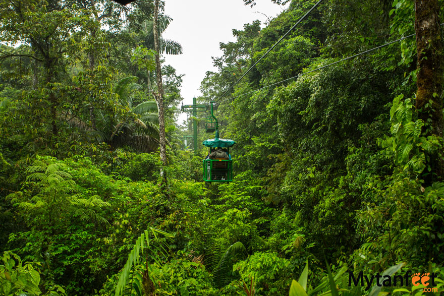 Rainforest Adventures Costa Rica Atlantic - aerial tram