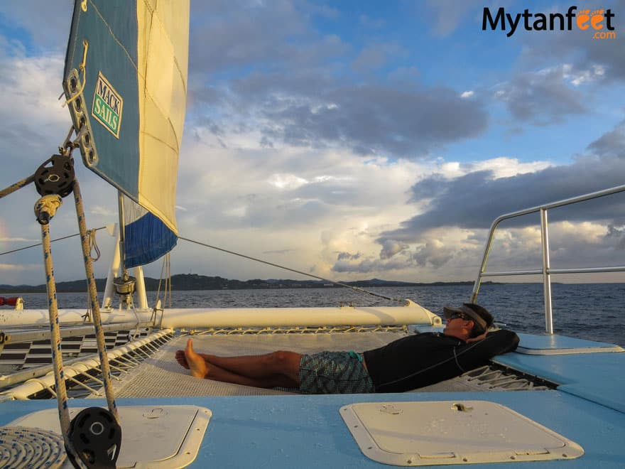 Things to do in Tamarindo - sunset sailing