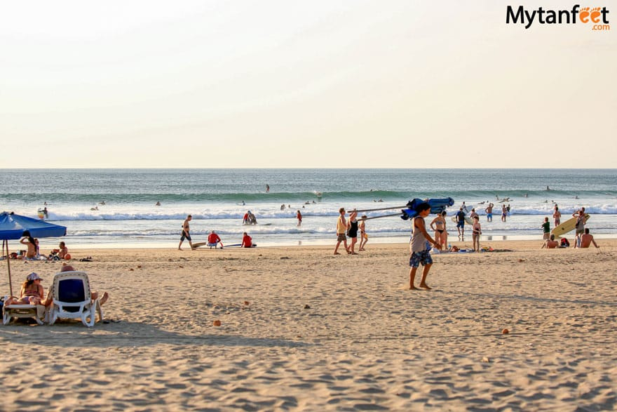 awesome things to do in Tamarindo - surfing