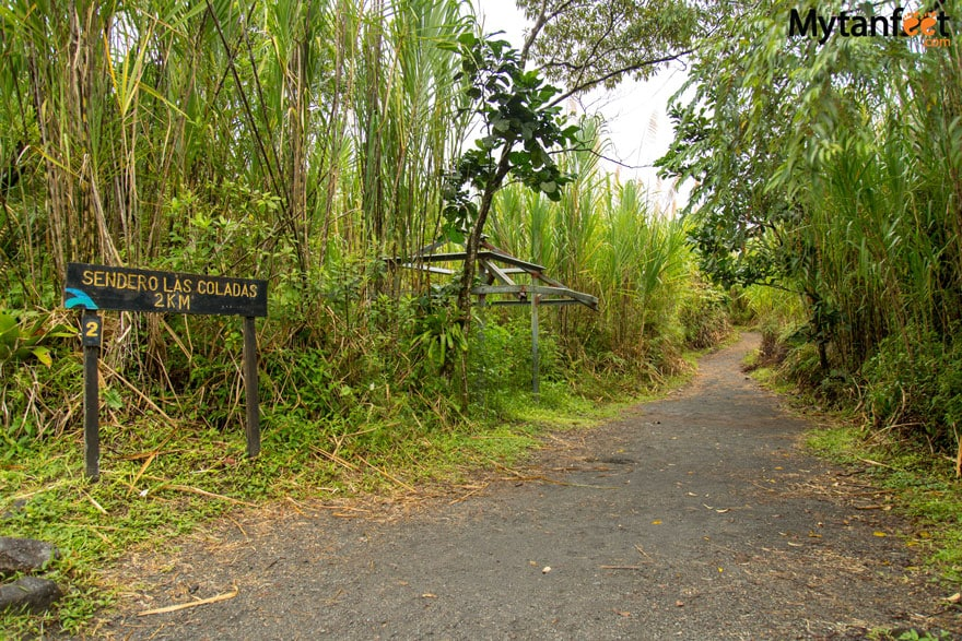 Arenal Volcano National Park hiking trails