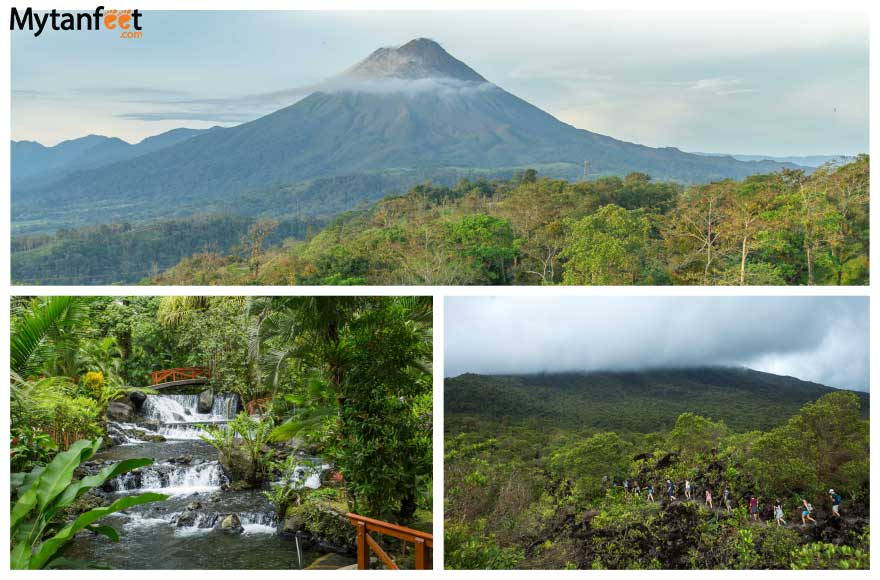 Day trips from San Jose Costa Rica - Arenal