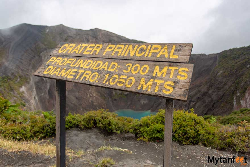Day trips from San Jose, Costa Rica - Irazu Volcano