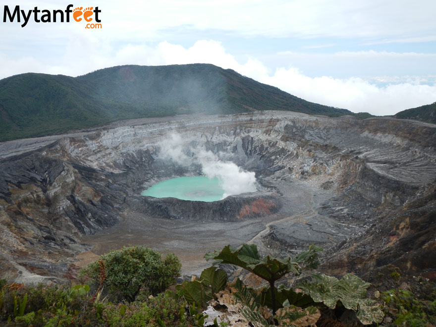 day trips from san jose, costa rica - poas volcano national park