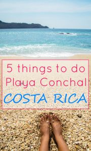 things to do in playa conchal