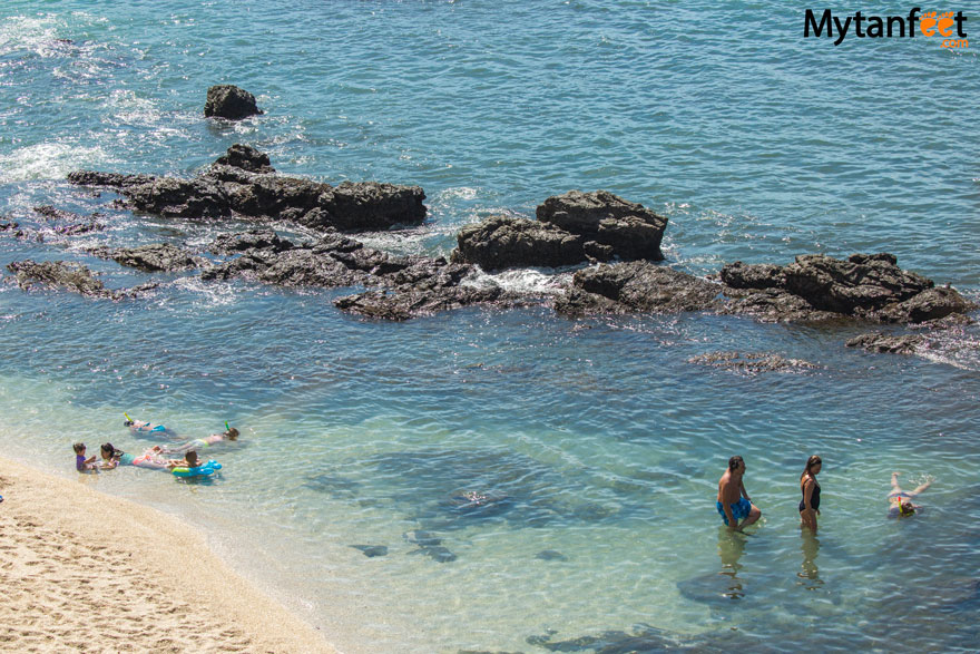 things to do in playa conchal - snorkeling