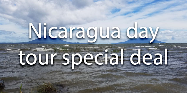 Nicaragua day tour from Costa Rica