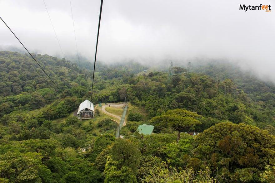 Sky adventures in Monteverde - sky aerial tram
