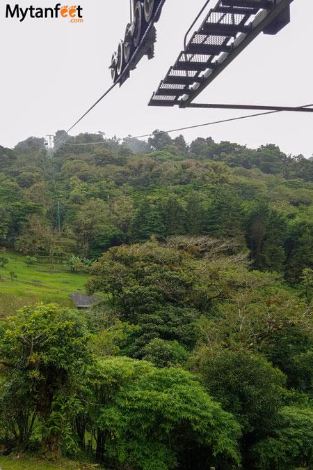 Sky adventures in Monteverde - sky tram