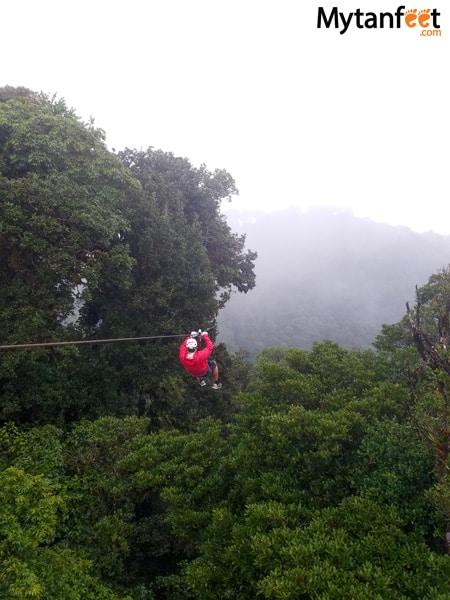 Sky adventures in Monteverde - sky trek zipline