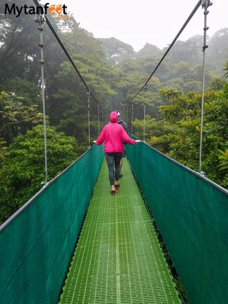 Sky adventures in Monteverde - sky walk