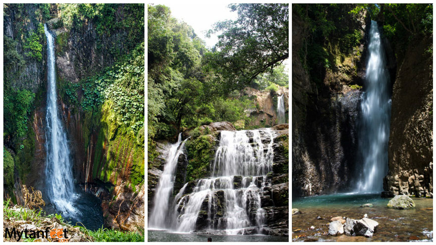 cheap activities in costa rica - waterfalls