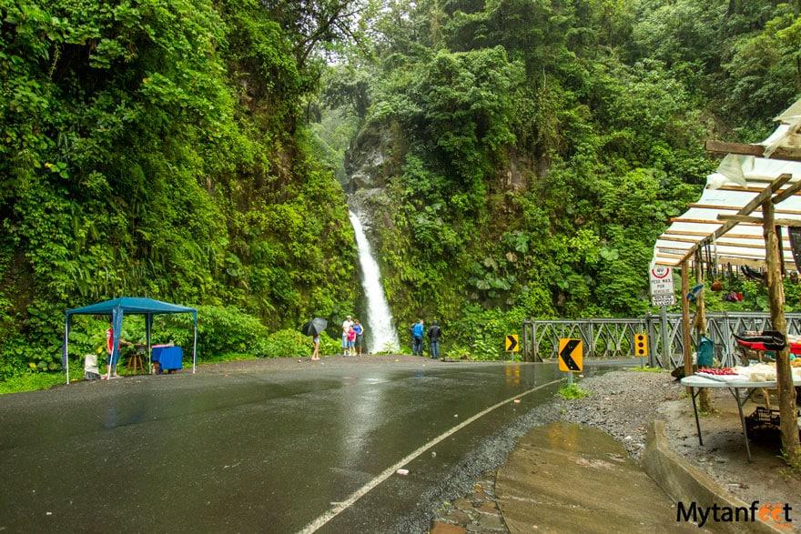 La Paz waterfall (free entrance)