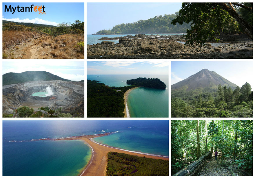 cheap things to do in Costa Rica - visit national parks