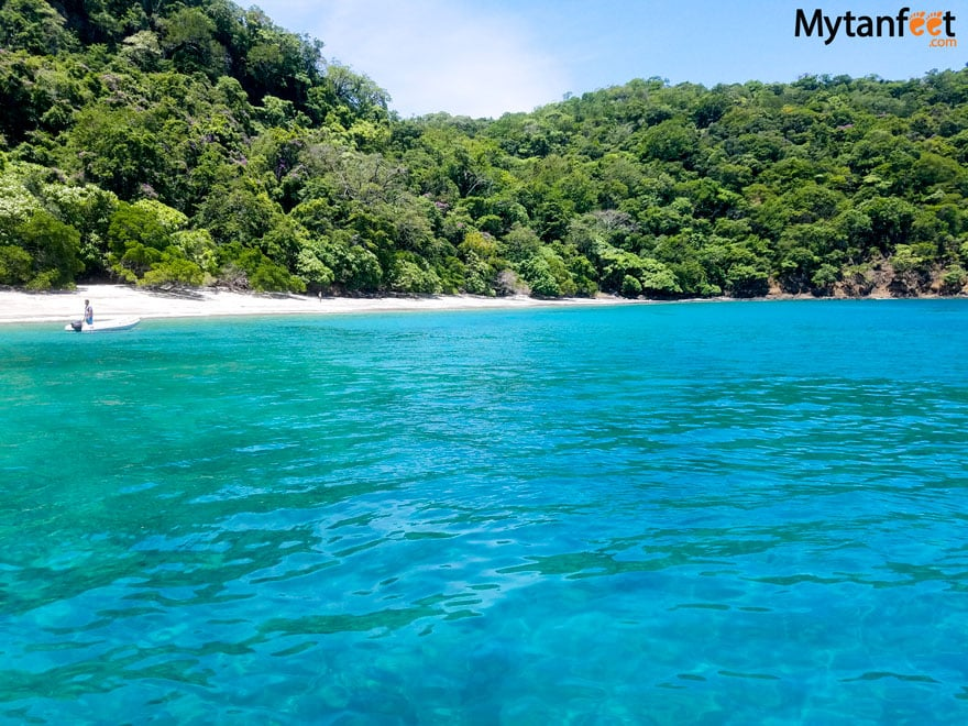 cheap things to do in Costa Rica - water taxi