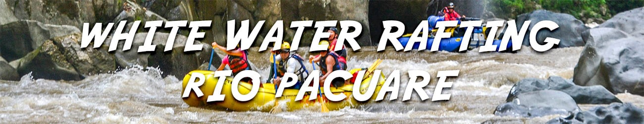 Costa Rica white water rafting Rio Pacuare discount