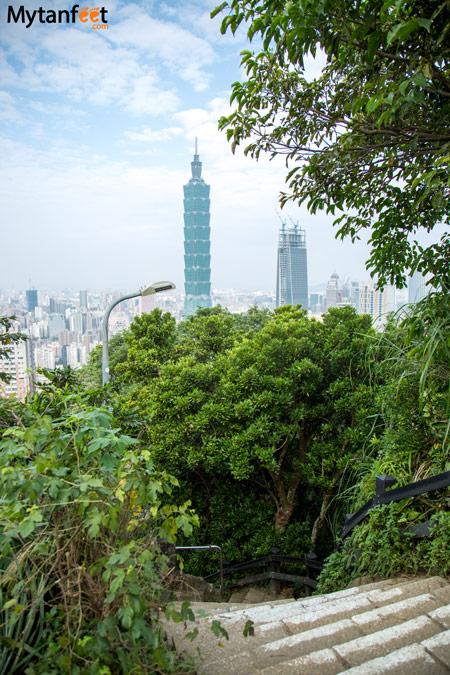 Things to do in Taipei, Taiwan - Elephant Mountain