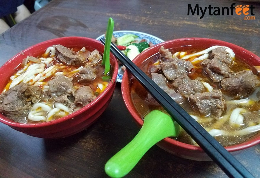 Things to do in Taipei, Taiwan - beef noodle soup
