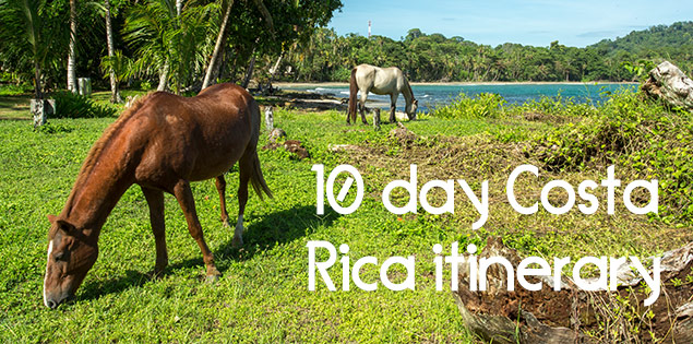 10 day costa rica itinerary featured