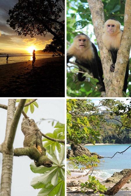 10 day costa rica itinerary - manuel antonio