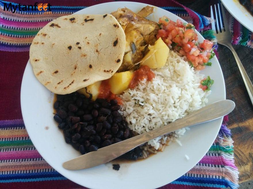Favorite restaurants in Jaco - soda rustico tico