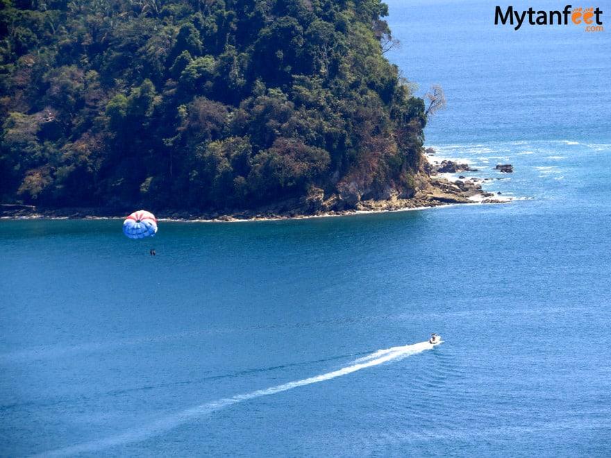 Things to do in Manuel Antonio - parasailing