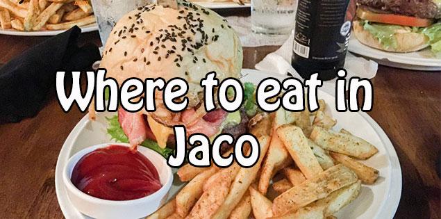 favorite restaurants in jaco featured