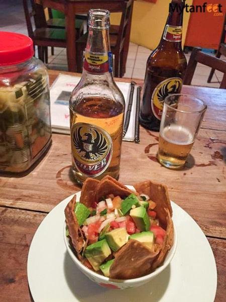 favorite restaurants in jaco - isaga bar