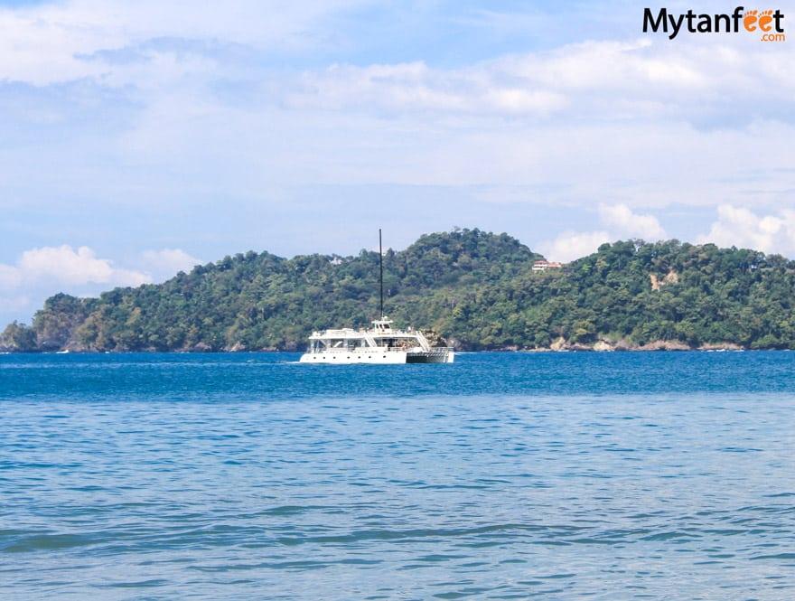 things to do in Manuel Antonio - catamaran cruise