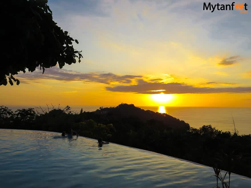 things to do in Manuel Antonio - watch sunset