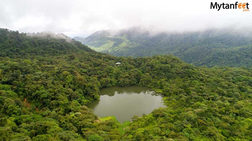 Children's eternal rainforest pocosol station - Pocosol waterfall