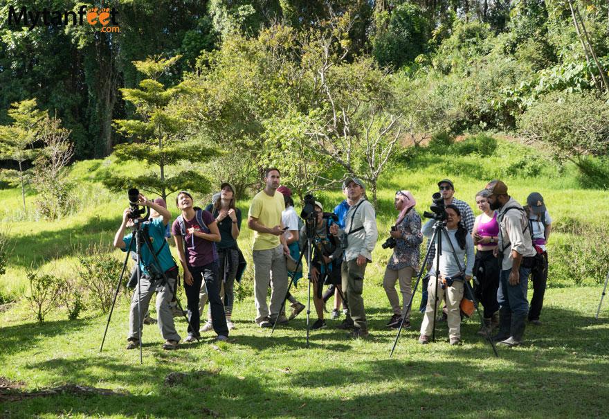 Curi Cancha Reserve - birdwatching