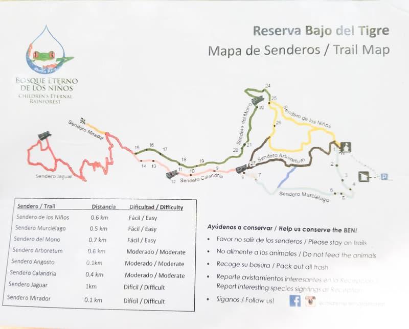 Hiking Children's Eternal Rain Forest Bajos del Tigre Children's Eternal Rain Forest, Monteverde and Santa Elena Cloud Forest Reserve