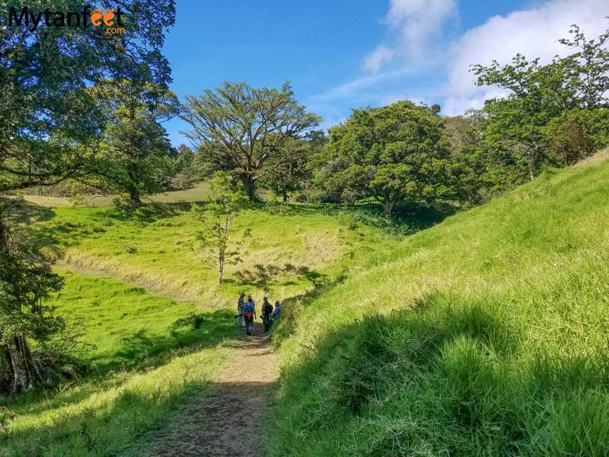 curi cancha reserve Monteverde - main road