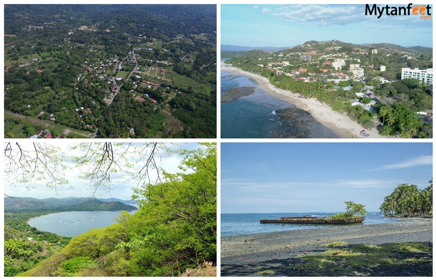 digital nomad in Costa Rica - popular towns