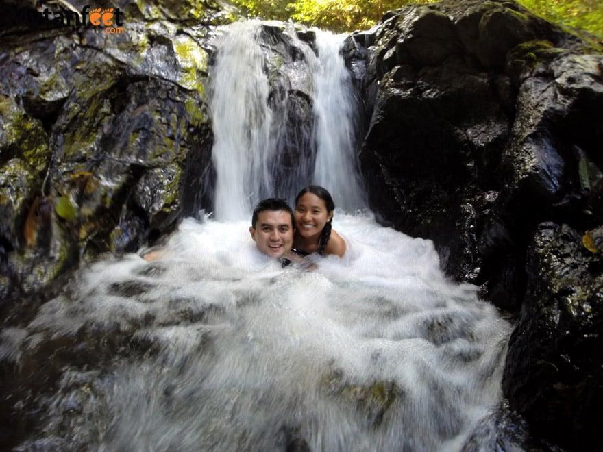Waterfall exploring in Costa Rica