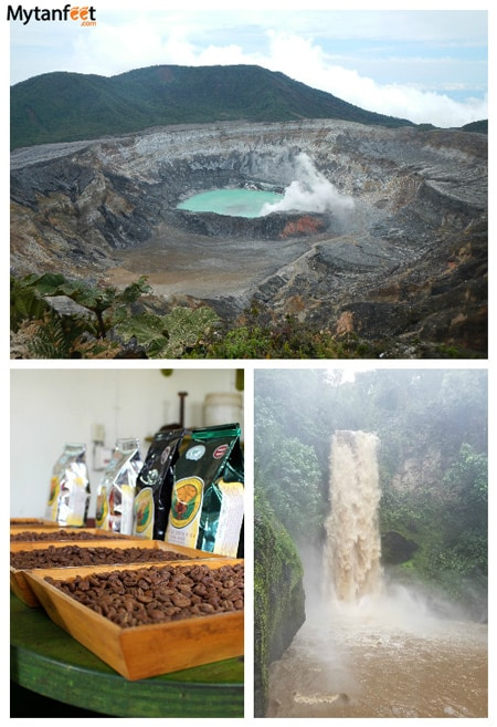 5 day san jose, costa rica itinerary - poas volcano la paz waterfalls coffee
