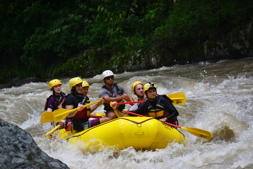 5 day san jose, costa rica itinerary - white water rafting rio pacure