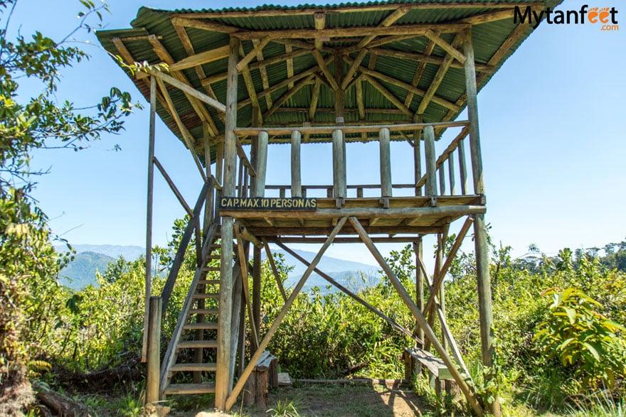 La Marta Wildlife Refuge - mirador