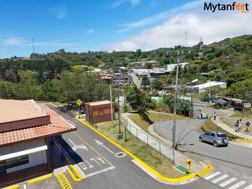 Monteverde road conditions - Santa Elena town