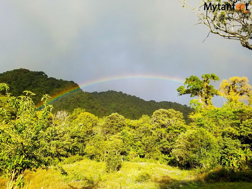 Monteverde travel tips - rainbows