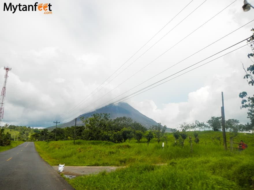 Road conditions in Costa Rica - Arenal