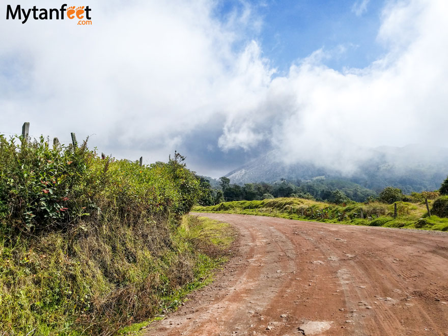 Road conditions in Costa Rica - Turrialba