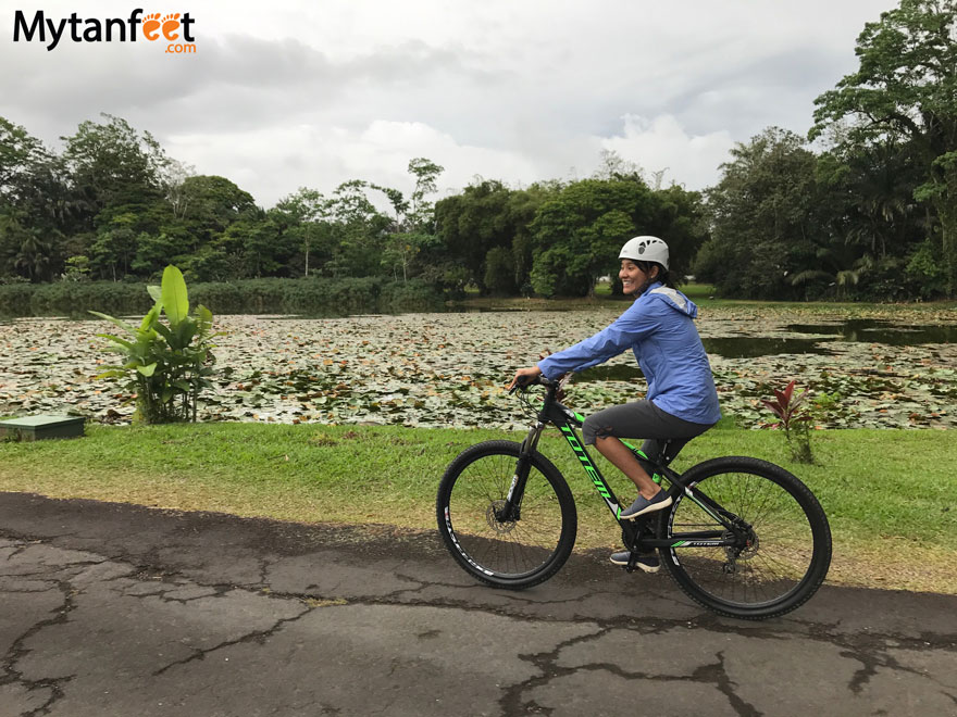 10 things to do in turrialba - biking and CATIE