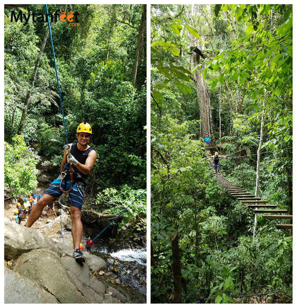 10 things to do in turrialba - canopy canyoning