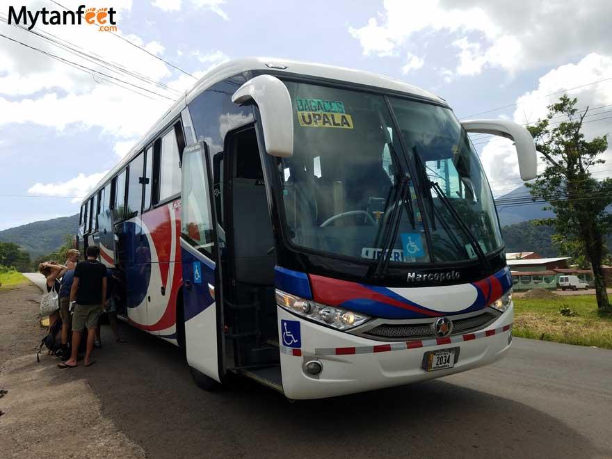 How to get around Costa Rica - public transportation.