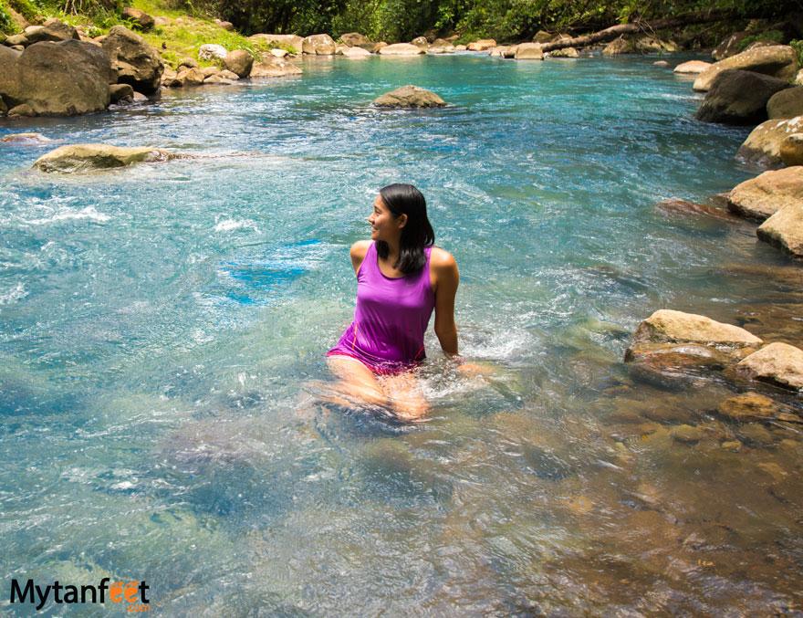 Swimming Rio Celeste