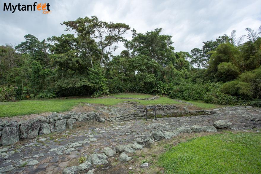guayabo national monument - aqueducts