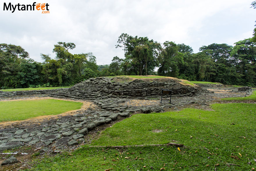 guayabo national monument ruins