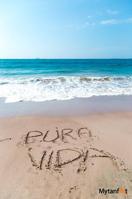 playa mina pura vida